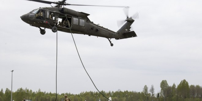 10th Combat Aviation Brigade and Latvian Special Operations Forces hone elite skills together | DVIDS