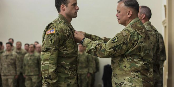 Michael Sargent Left Darden to Redeploy in Afghanistan, and Returned a Hero | UVA Today