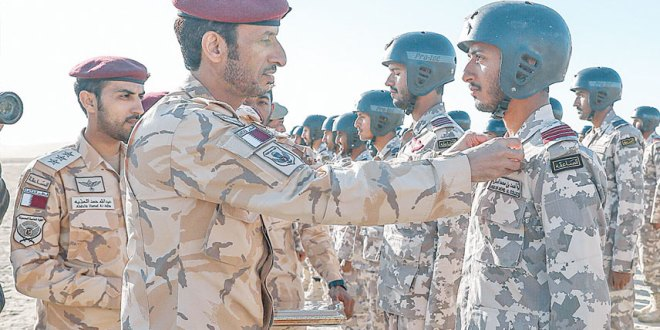 Joint Special Forces graduates new set of parachute jumpers | Qatar Tribune