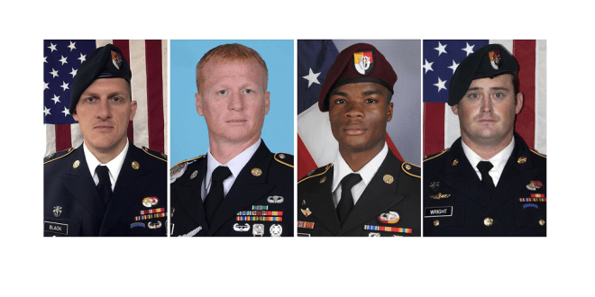 AFRICOM is investigating ISIS claims that it has video of the 4 US soldiers killed in Niger | Army Times