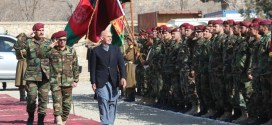 Ghani briefed on operations during visit to Commando Corps | Pajhwok Afghan News