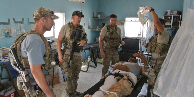 Surgical team on front lines of ISIS war to receive Bronze Stars | Air Force Times