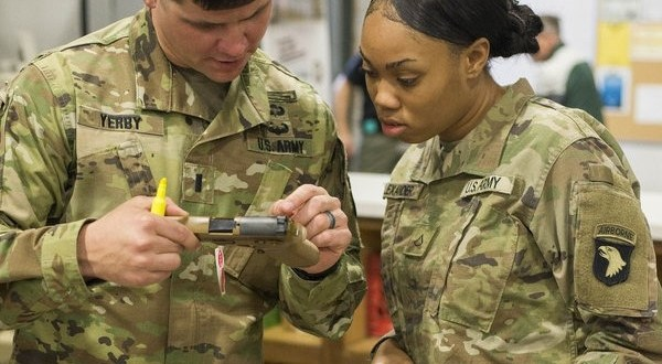 The Army is working to fix problems with its new handgun after critical DoD report   Army Times