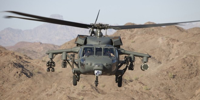 New weapon suite adds additional capability to Black Hawk helicopters | Defense News