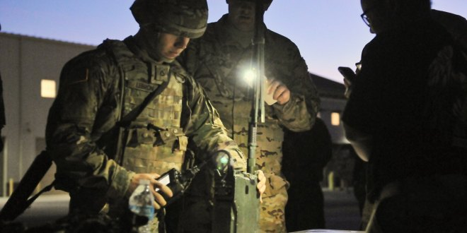 Harris unveils two-channel leader radio for US Army   Defense News