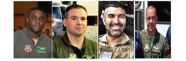 DoD identifies 7 airmen killed in helicopter crash in western Iraq | Air Force Times
