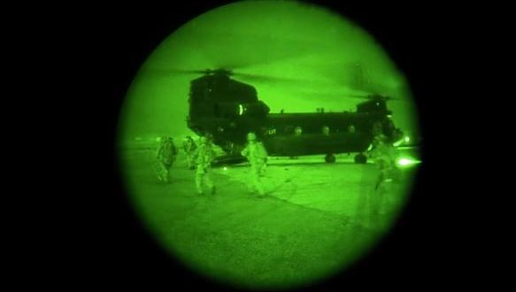 Dramatic night-vision video captures US raid to kill ISIS fighters | CNN