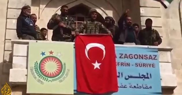 Turkish forces and Free Syrian Army capture Afrin city | Al Jazeera