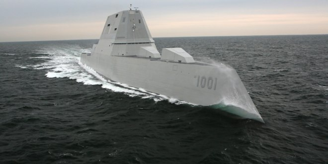 US Navy takes ownership of its second stealth destroyer | Defense News