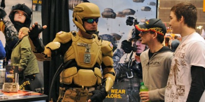 Iron Man: USSOCOM one year from putting someone into powered exoskeleton | Defense News