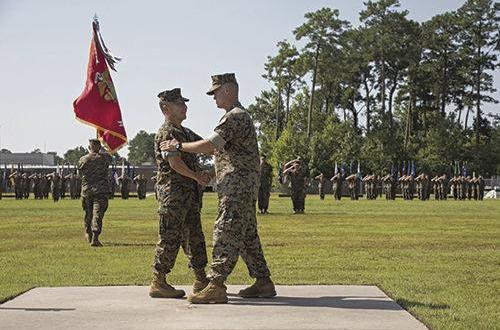 Marine Corps Forces Special Operations Command Change of Command Ceremony | Camp Lejeune Globe