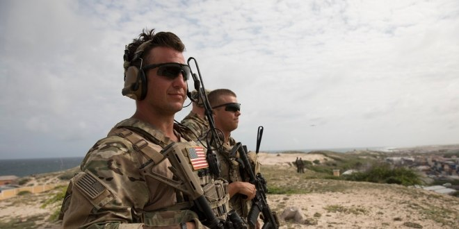 Airstrike kills two militants after US troops come under fire in Somalia | Military Times