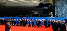 Submarine Vermont christened at Connecticut shipyard | Fox 61