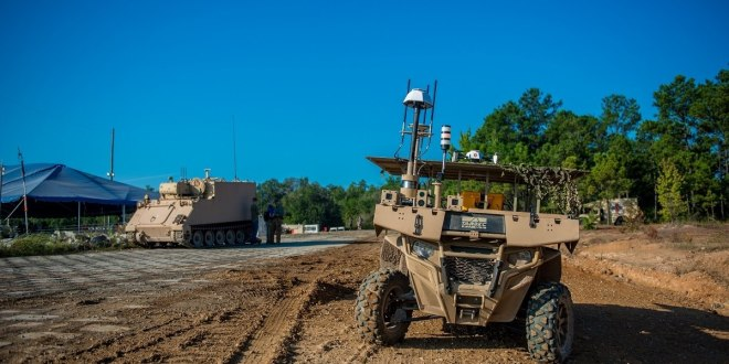 These soldiers laid out battlefield problems they hope robots can fix | Army Times