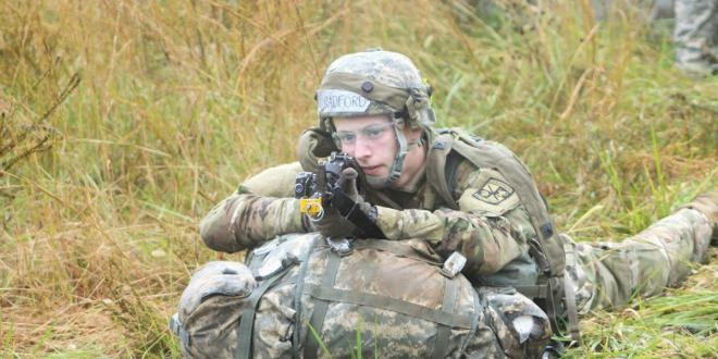 1st Brigade cadets brave elements for competition | The News Enterprise