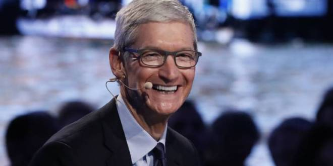 Apple boss Tim Cook praises GDPR and wants tough US privacy law | BBC