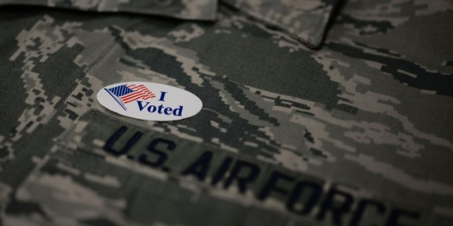 Military members and spouses: There's still time to vote by absentee ballot. Here are some tips   Military Times