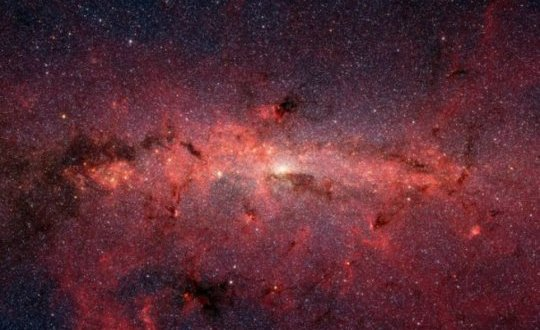 Mystery at the center of the Milky Way solved   Science Daily