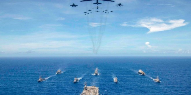 LOOK: US military at work around the world | Inquirer