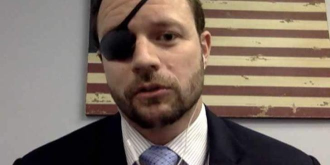 Congressional candidate, a former Navy SEAL, chides 'SNL' comic over eyepatch joke   Navy Times