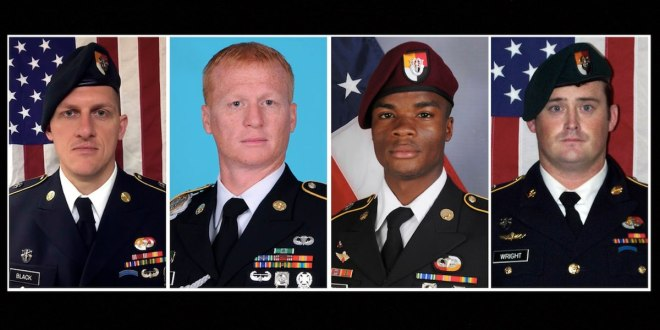 Father of soldier killed in Niger asks the Army not to punish the Green Beret officer who led the mission | Army Times