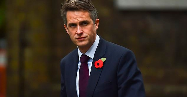 Defence Secretary Gavin Williamson rejects call to fly jihadis back to the UK for trial | Daily Mail