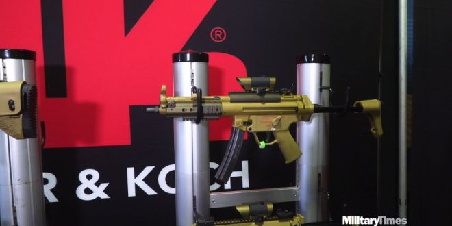 Here's one of the 6 subgun submissions for the Army's new weapons contract | Army Times