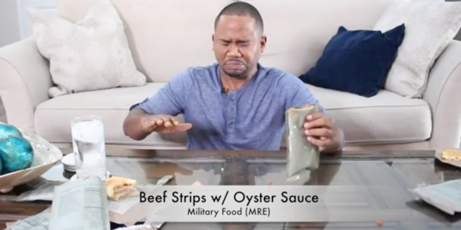 'That smells like death… expired death' — man tries MREs for first time | Military Times