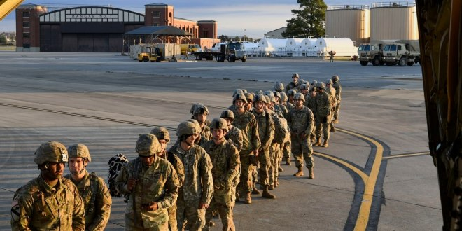 How long will active-duty troops be deployed to the US-Mexico border? | Military Times