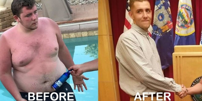 Future Marine recruit loses nearly 150 pounds in 8 months to join the Corps | Marine Times
