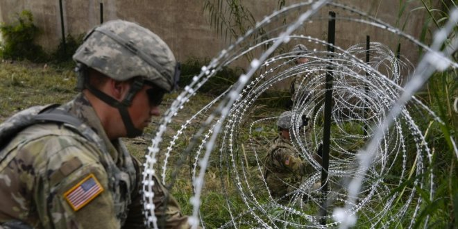 US troops are staying at the US-Mexico border through Christmas and into the new year | Business Insider