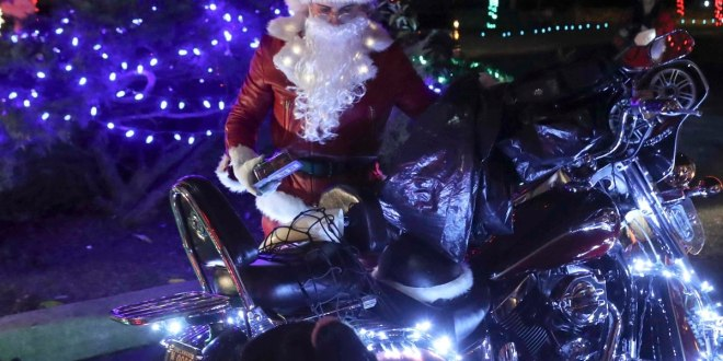 Marine veteran bartender becomes 'Motorcycle Santa' for kids in need | Marine Corps Times