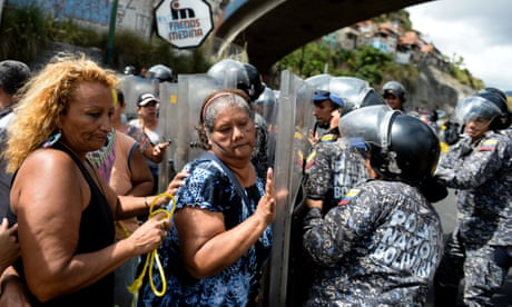 Venezuela claims it has foiled attempted military uprising | The Guardian