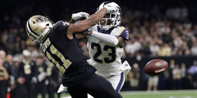 Three days later, no public statement from NFL about Rams-Saints | NBC Sports