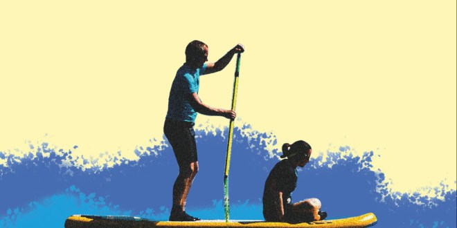 Why paddleboarding is the ultimate sport for midlife fitness | The Telegraph