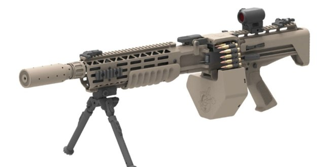 This is Knight's Armament's new machine gun suppressor | Military Times