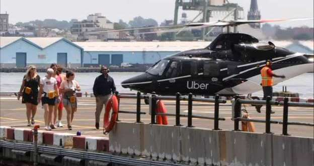 Uber Copter has landed: Rideshare expands skyward to JFK | MSN