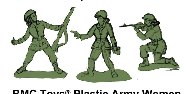 Missing in action: Classic green Army men still have no women figurinesand this B6-year-old is not having it| Military Times