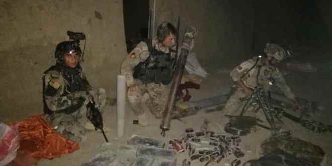 Afghan Special Forces destroy suicide bombers training center in Logar province| Khaama Press Agency