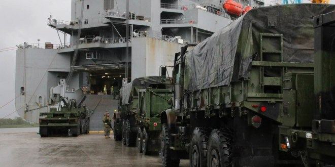 US military triggers 'turbo activation' of wartime sealift ships| Defense News