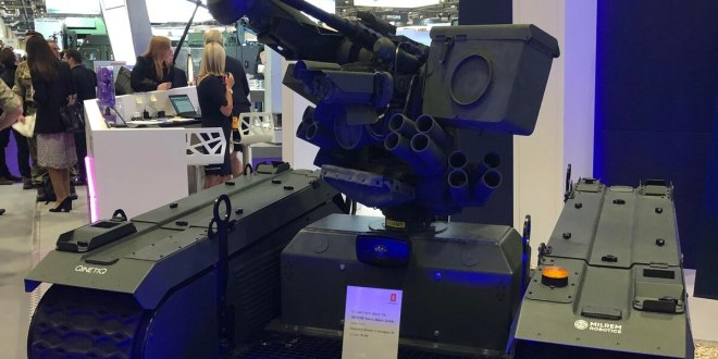 The US and its allies are getting serious about armed ground robots| Defense News