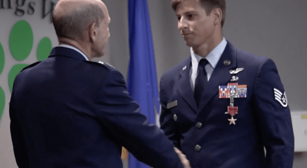 Air Force PJ receives Bronze Star for fighting off Taliban for hours while twice wounded | Task and Purpose