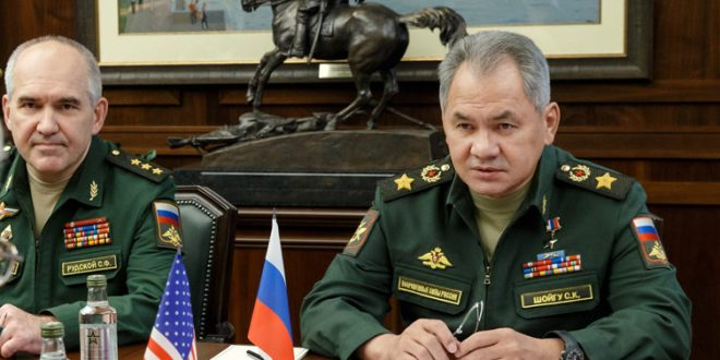 "Defence Minister Shoigu Sells Russia's Military ""Success Story"" 