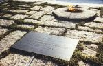 John F. Kennedy and Eternal Flame Memorial at Arlington National Cemetary