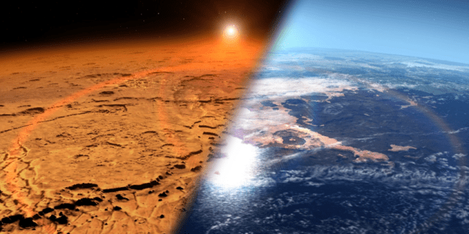 Mars: Simulations of early impacts produce a mixed Mars mantle | Science Daily