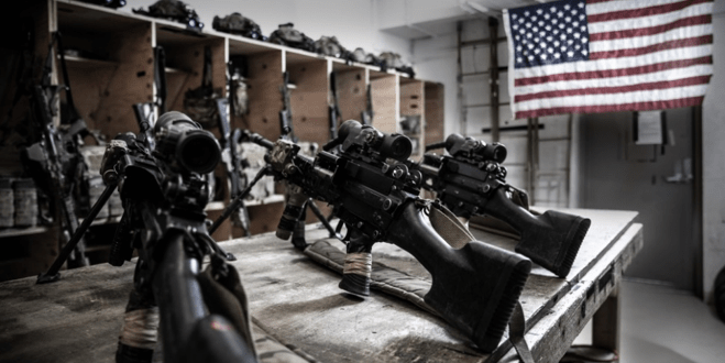 Take a rare look inside an Army Ranger Armory somewhere in Afghanistan | The Drive