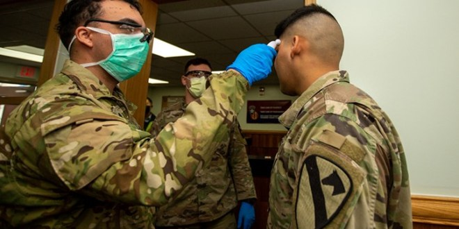 Coronavirus takes toll on U.S. military as it tries to aid civilians | WITN