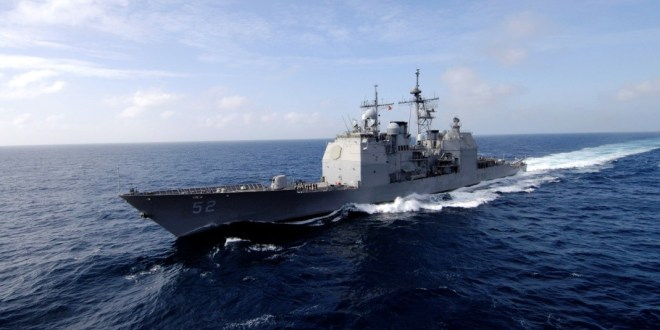 USS Bunker Hill sails through Spratly Islands to contest China's maritime claim | UPI News