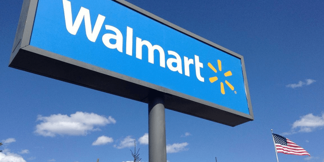 Walmart becomes a lifeline, online sales surge 74% | AP News