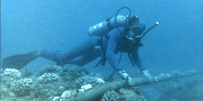 US-China row moves underwater in cable tangle   BBC News